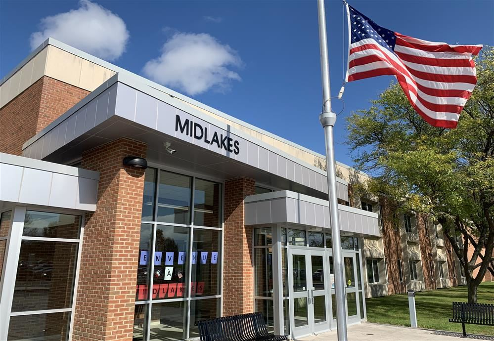 Midlakes High School is located at 1554 Route 488 in Clifton Springs.
